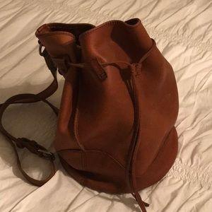 Frye bucket backpack